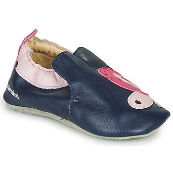 Topánky Dievčatá Papuče Catimini CITOLA Námornícka modrá / Ružová