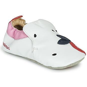 Topánky Dievčatá Papuče Catimini CIRINI Biela / Ružová