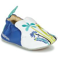 Topánky Dievčatá Papuče Catimini COLIMA Biela / Modrá