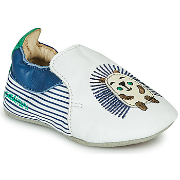 Topánky Chlapci Papuče Catimini COFFI Biela / Modrá / Zelená