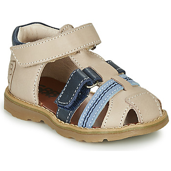 Topánky Chlapci Sandále GBB DIMMI Béžová / Modrá