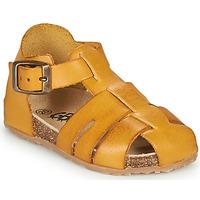 Topánky Chlapci Sandále GBB FREDERICO Žltá horčicová