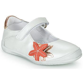 Topánky Dievčatá Balerínky a babies GBB EMILIETTE Biela