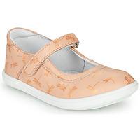 Topánky Dievčatá Balerínky a babies GBB PLACIDA Ružová