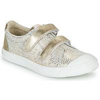 Topánky Dievčatá Nízke tenisky GBB NOELLA Biela / Zlatá