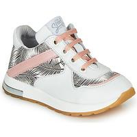 Topánky Dievčatá Nízke tenisky GBB LELIA Biela / Čierna / Ružová
