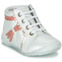 Topánky Dievčatá Polokozačky GBB ACINTA Biela