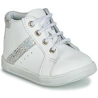 Topánky Dievčatá Členkové tenisky GBB AGLAE Biela