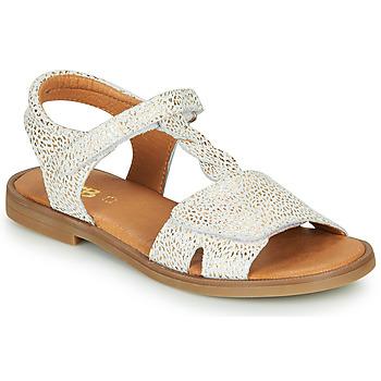 Topánky Dievčatá Sandále GBB FARENA Biela / Zlatá