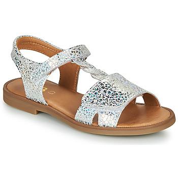 Topánky Dievčatá Sandále GBB FARENA Strieborná