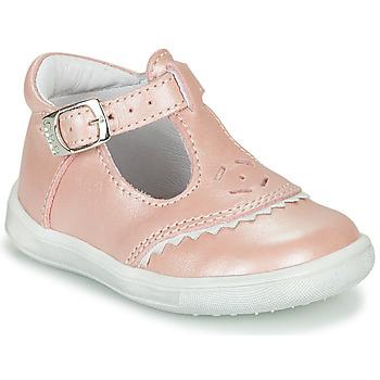 Topánky Dievčatá Balerínky a babies GBB AGENOR Ružová