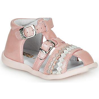 Topánky Dievčatá Sandále GBB ALIDA Ružová