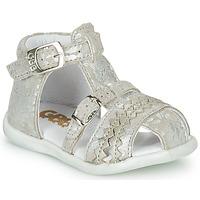 Topánky Dievčatá Sandále GBB ALIDA Béžová