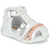 Topánky Dievčatá Sandále GBB ALIDA Biela