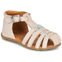 Topánky Dievčatá Sandále GBB ANAYA Ružová