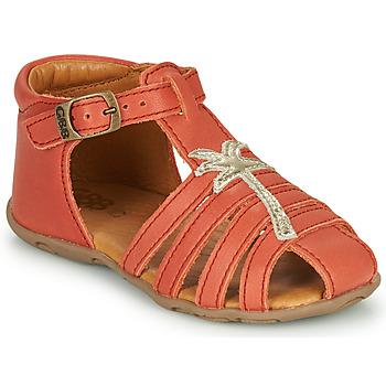 Topánky Dievčatá Sandále GBB ANAYA Koralová