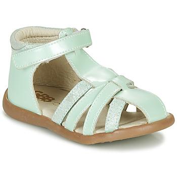 Topánky Dievčatá Sandále GBB AGRIPINE Zelená
