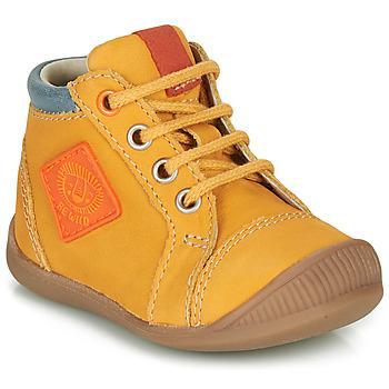 Topánky Chlapci Členkové tenisky GBB TARAVI Žltá