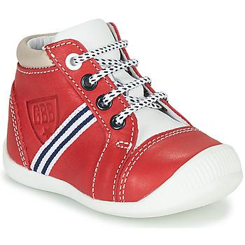 Topánky Chlapci Členkové tenisky GBB GABRI Červená