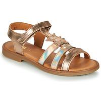 Topánky Dievčatá Sandále GBB OLGA Ružová / Zlatá