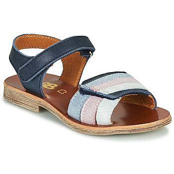 Topánky Dievčatá Sandále GBB MIMOSA Námornícka modrá