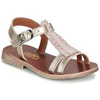 Topánky Dievčatá Sandále GBB LAZARO Zlatá