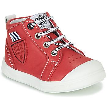 Topánky Chlapci Členkové tenisky GBB GREGOR Červená
