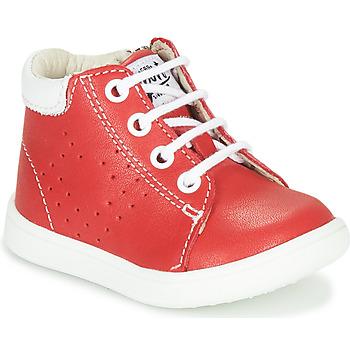 Topánky Chlapci Členkové tenisky GBB FOLLIO Červená
