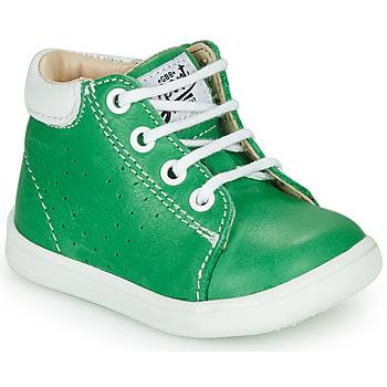 Topánky Chlapci Členkové tenisky GBB FOLLIO Zelená