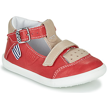 Topánky Chlapci Sandále GBB BERETO Červená