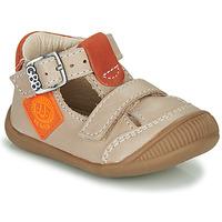 Topánky Chlapci Sandále GBB BOLINA Béžová / Oranžová