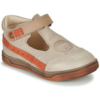 Topánky Chlapci Sandále GBB ANGOR Béžová / Oranžová