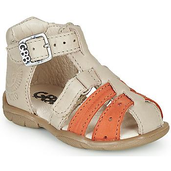 Topánky Chlapci Sandále GBB BORETTI Béžová / Oranžová
