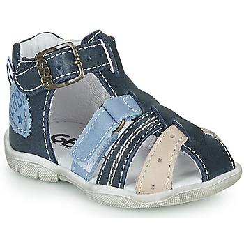 Topánky Chlapci Sandále GBB BYZANTE Modrá