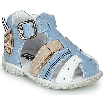 Topánky Chlapci Sandále GBB BYZANTE Modrá / Šedá