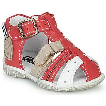 Topánky Chlapci Sandále GBB BYZANTE Červená