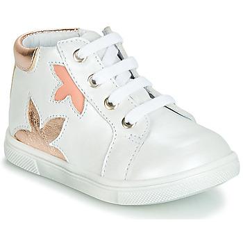 Topánky Dievčatá Členkové tenisky GBB ALEXA Biela