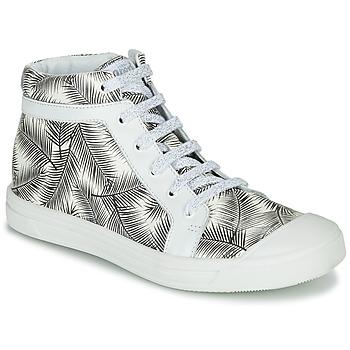 Topánky Dievčatá Členkové tenisky GBB NAVETTE Čierna / Biela