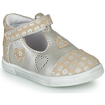 Topánky Dievčatá Balerínky a babies GBB ANISA Béžová