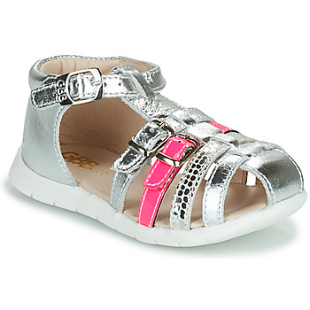 Topánky Dievčatá Sandále GBB PERLE Strieborná