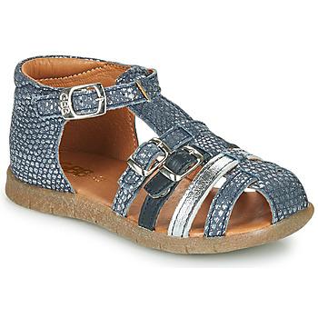 Topánky Dievčatá Sandále GBB PERLE Modrá