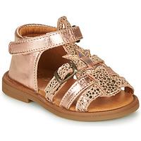 Topánky Dievčatá Sandále GBB CARETTE Ružová / Zlatá