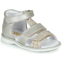 Topánky Dievčatá Sandále GBB NAVIZA Béžová