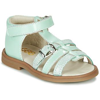 Topánky Dievčatá Sandále GBB ANTIGA Zelená