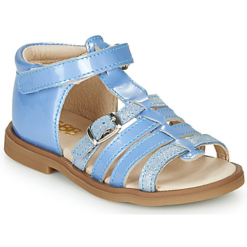 Topánky Dievčatá Sandále GBB ANTIGA Modrá