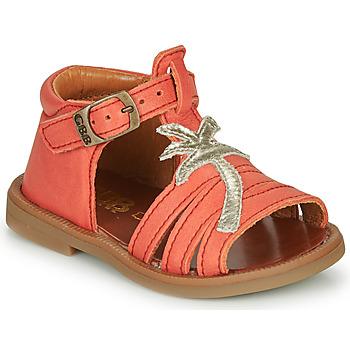 Topánky Dievčatá Sandále GBB ARAGA Koralová