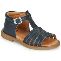 Topánky Dievčatá Sandále GBB ATECA Námornícka modrá