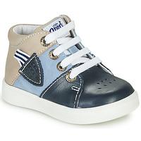 Topánky Chlapci Členkové tenisky GBB AMOS Modrá