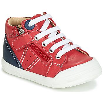 Topánky Chlapci Členkové tenisky GBB ANATOLE Červená
