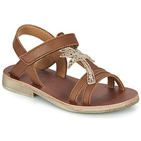 Topánky Dievčatá Sandále GBB SAPELA Hnedá